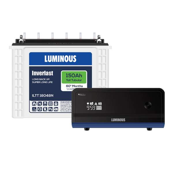 Luminous-Zelio-1100150AH-60-Months-Warranty